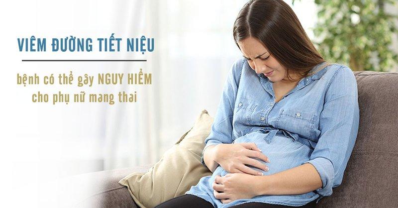 Viêm đường tiết niệu có nhiều biểu hiện giống triệu chứng khi mang thai nên chị em rất dễ nhầm lẫn