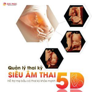 Quản lý thai kỳ siêu âm 5D