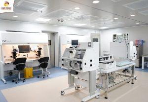 Phòng labo thực hiện sàng lọc bất thường NST