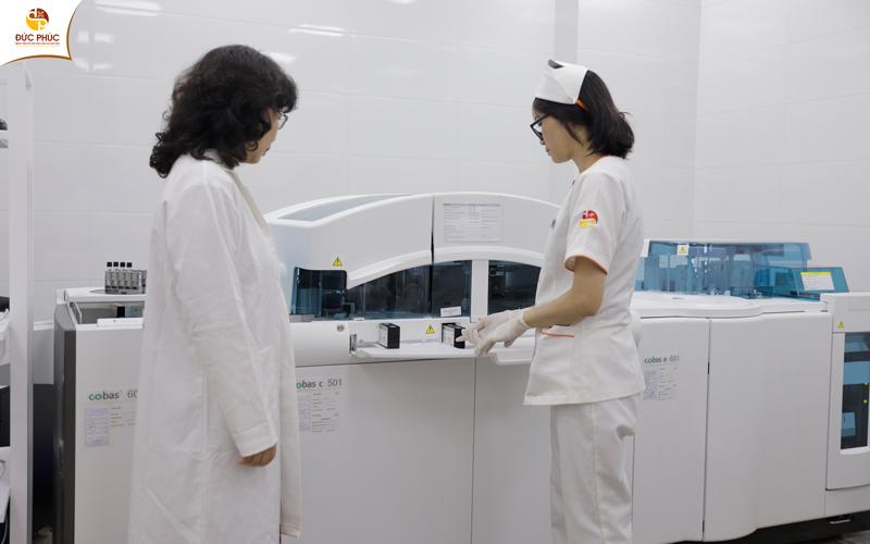 Bệnh viện Đức Phúc sở hữu trang thiết bị y tế hiện đại