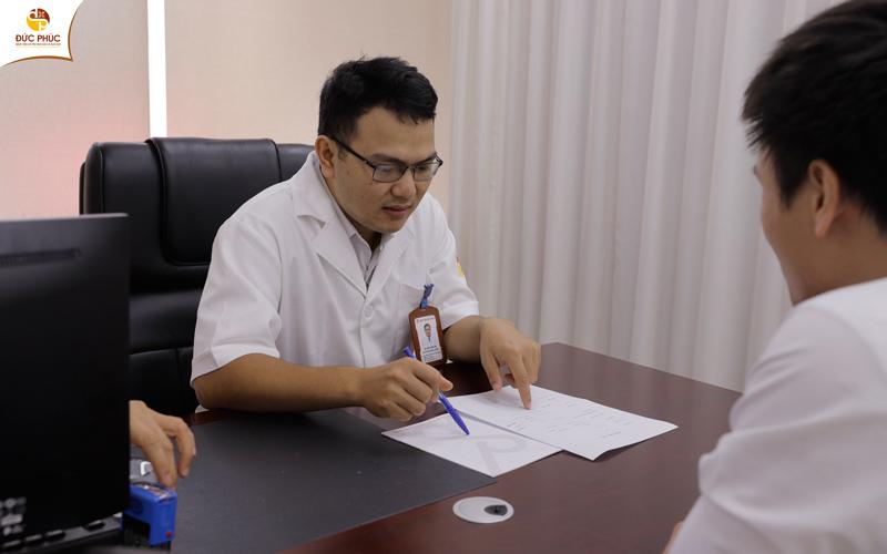 Quá trình thăm khám tại Bệnh viện Đức Phúc đảm bảo sự kín đáo và riêng tư
