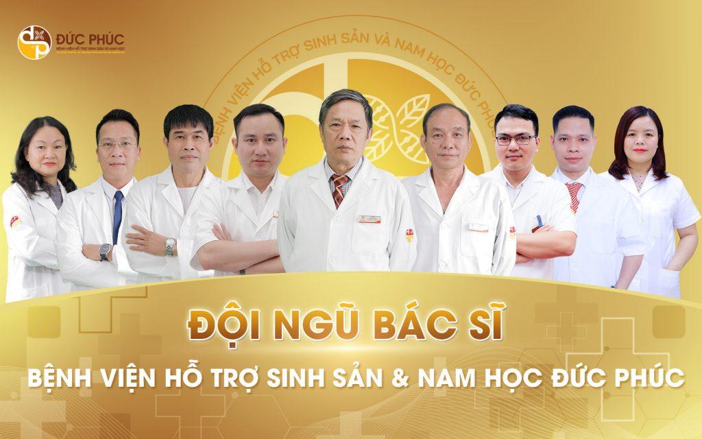 Đội ngũ y bác sĩ giàu kinh nghiệm tại Bệnh viện Đức Phúc