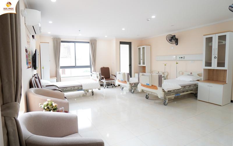 Cơ sở vật chất tại Bệnh viện Đức Phúc rất hiện đại và tiện nghi
