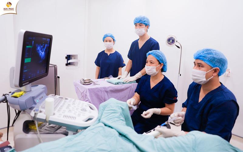 Một ca thụ tinh trong ống nghiệm tại Bệnh viện Đức Phúc