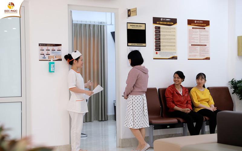 Bệnh nhân sẽ nhận được sự hướng dẫn tận tình từ các y bác sĩ