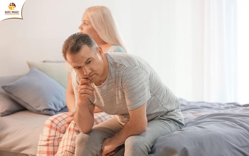 Tuổi tác cũng là nguyên nhân gây rối loạn sinh lý nam