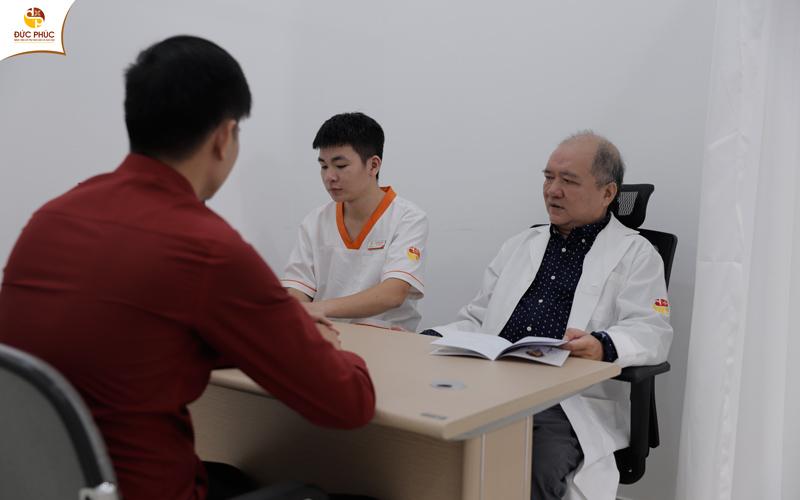 Sau khi chẩn đoán bệnh bác sĩ để đưa ra phương pháp điều trị