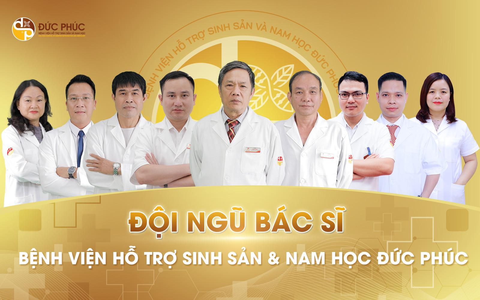 Đội ngũ bác sĩ dày dạn kinh nghiệm tại Bệnh viện Đức Phúc