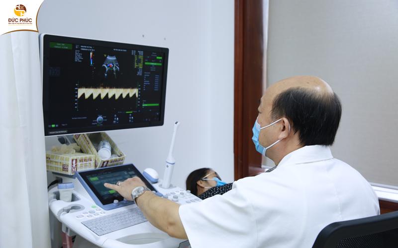 Dịch vụ siêu âm 5D hiện đại tại Bệnh viện Đức Phúc giúp mẹ nhìn rõ dáng hình con yêu