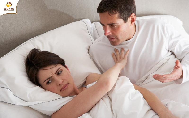 Sinh lý nữ gây ra những ảnh hưởng tiêu cực tới đời sống hôn nhân